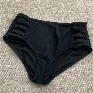 High waisted swimsuit bottoms